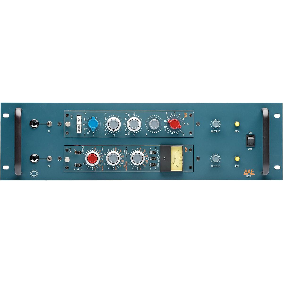 BAE 2CR 2-Channel Powered Rack