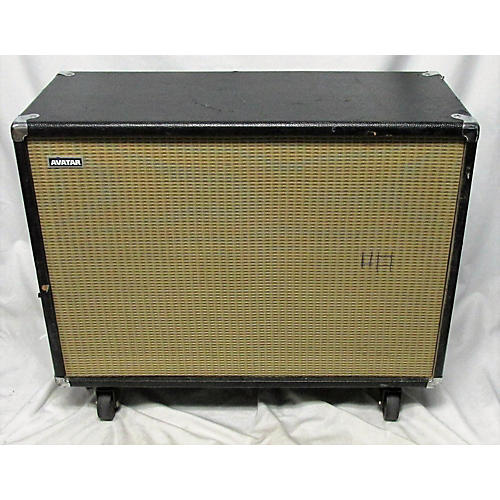 used avatar 2x12 vintage 30 guitar cabinet guitar center. Black Bedroom Furniture Sets. Home Design Ideas