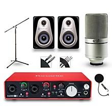 Focusrite 2i4 Recording Bundle With Sterling MX3 Monitors