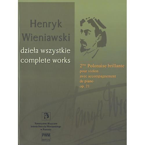 Theodore Presser 2me Polonaise Brillante (Book)