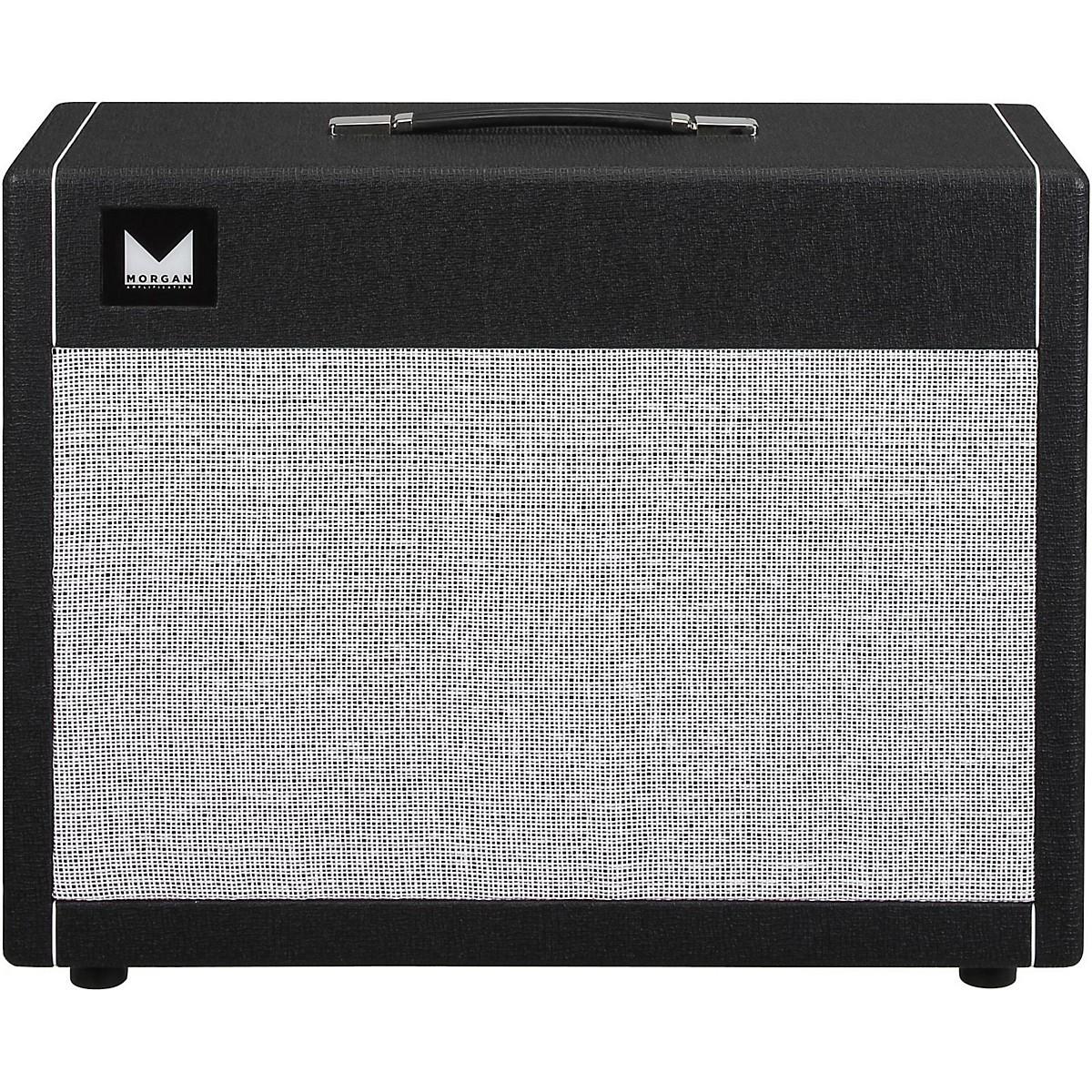 Morgan Amplification 2x12 Guitar Speaker Cabinet with Gold Speaker