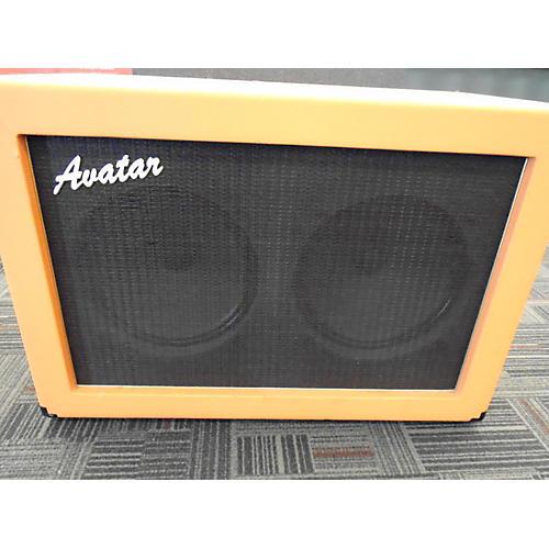 Used Avatar 2x12 Orange Cab Guitar Cabinet