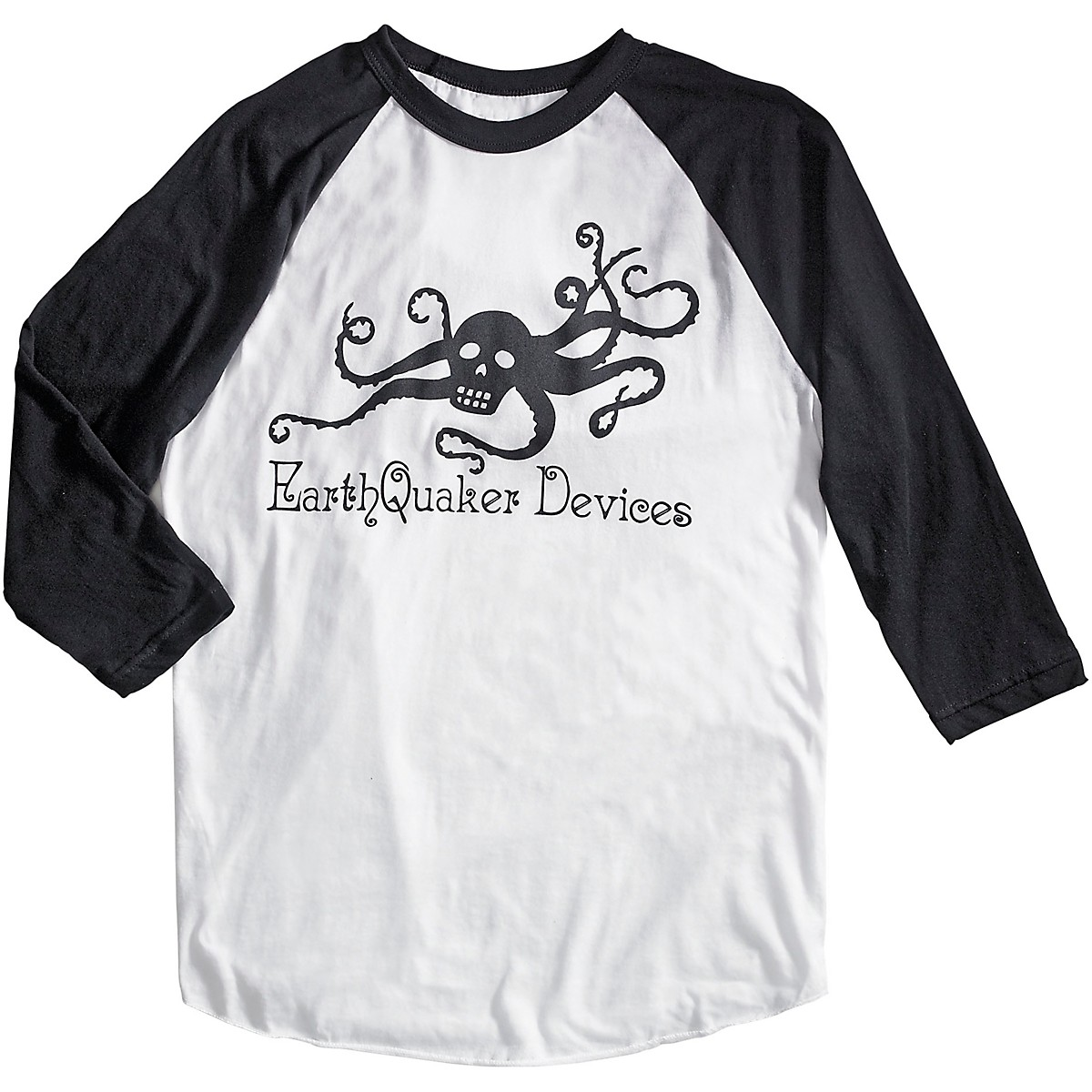Earthquaker Devices 3/4 Sleeve Octoskull T-Shirt