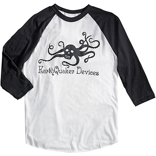 Earthquaker Devices 3/4 Sleeve Octoskull T-Shirt