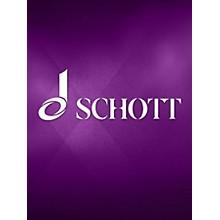 Schott 3 Choruses Op. 6 (Tenor Part) Composed by Max Reger