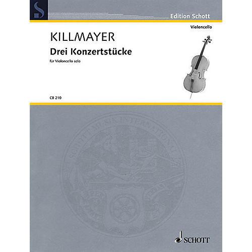 Hal Leonard 3 Concert Pieces Cello Solo String Solo Series Softcover