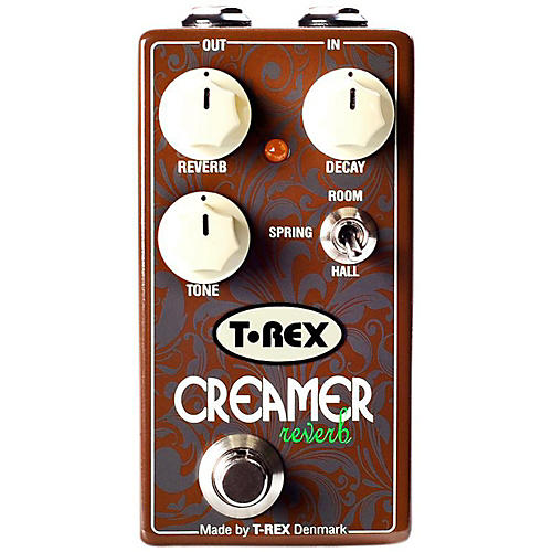 T-Rex Engineering 3-Mode Reverb Guitar Effects Pedal