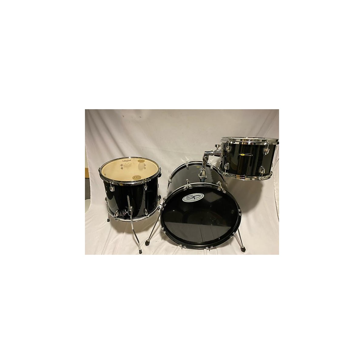 Sound Percussion Labs 3 PIECE DRUMSET NO SNARE DRUM Drum Kit