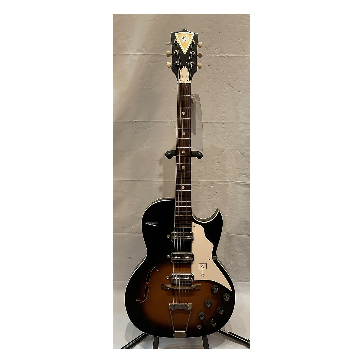 Kay 3 PU Solid Body Electric Guitar