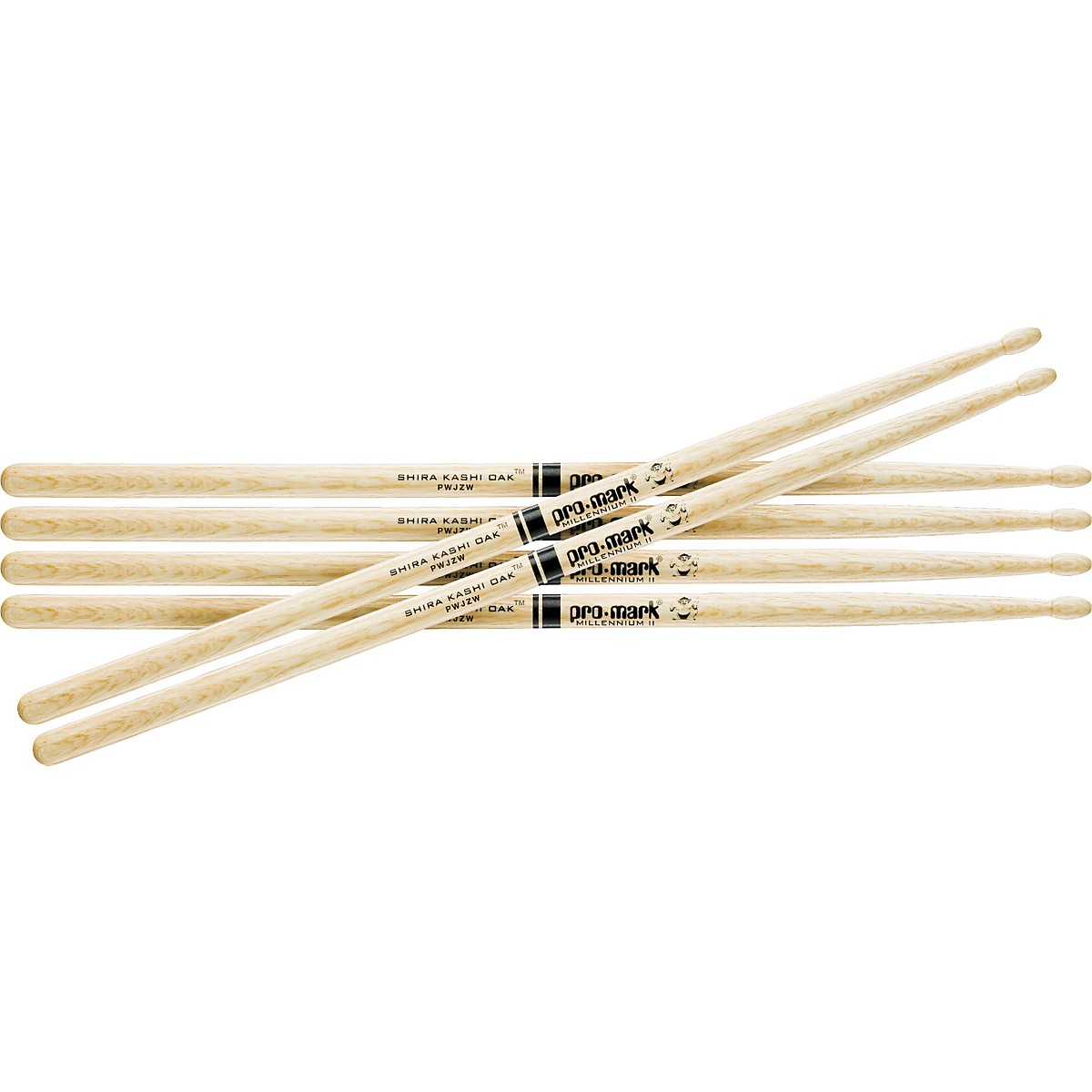 Promark 3-Pair Japanese White Oak Drumsticks