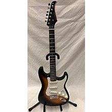 Silvertone 3 Tone Solid Body Electric Guitar