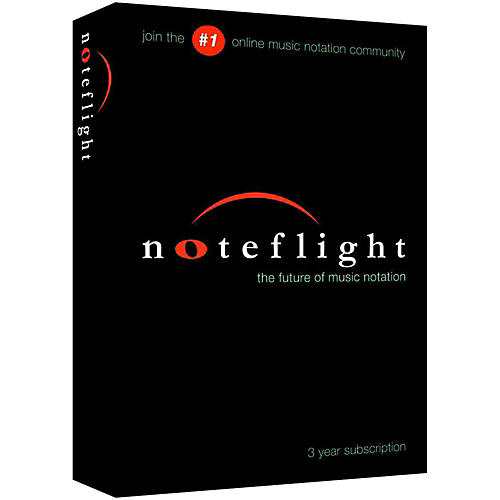 Noteflight 3-Year Subscription