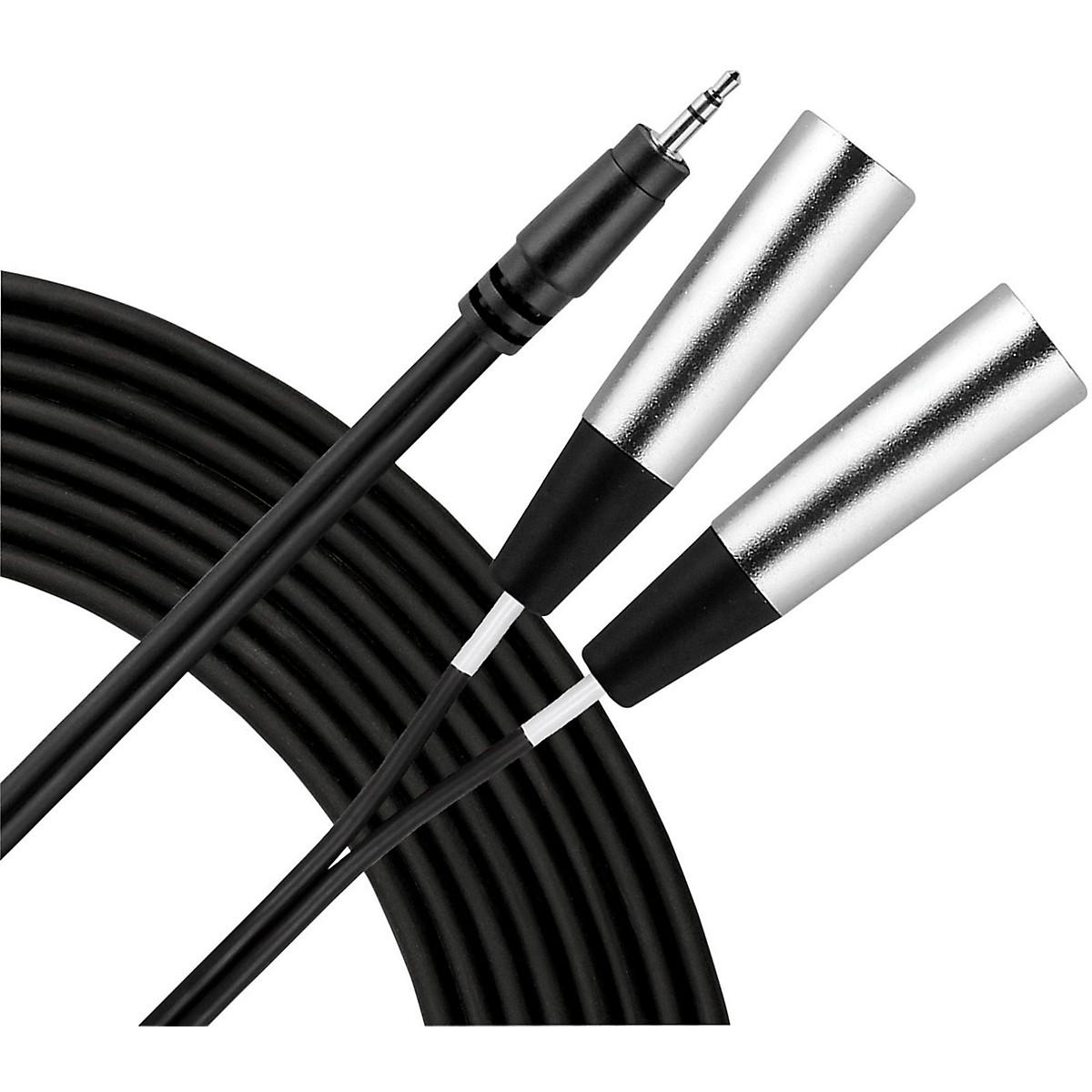 Livewire 3.5mm TRS Dual XLR(M) Patch Cable