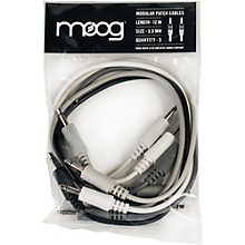 """Moog 3.5mm TS cables 12"""" long for Mother-32 (Pack of 5)"""