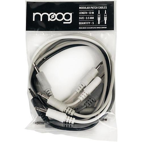 Moog 3.5mm TS cables 12