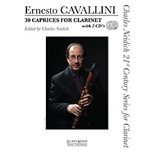 Lauren Keiser Music Publishing 30 Caprices for Clarinet LKM Music BK/CD Composed by Ernesto Cavallini Edited by Charles Neidich