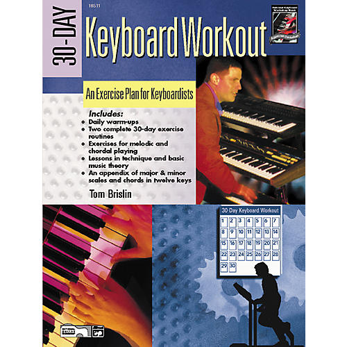 Alfred 30-Day Keyboard Workout Book