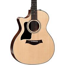 Taylor 300 Series 314ce-LH Grand Auditorium Left-Handed Acoustic-Electric Guitar