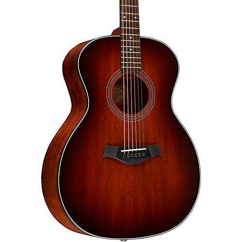Taylor 300 Series 324-SEB-NoPG Grand Auditorium Acoustic Guitar Shaded Edge Burst No Pickguard
