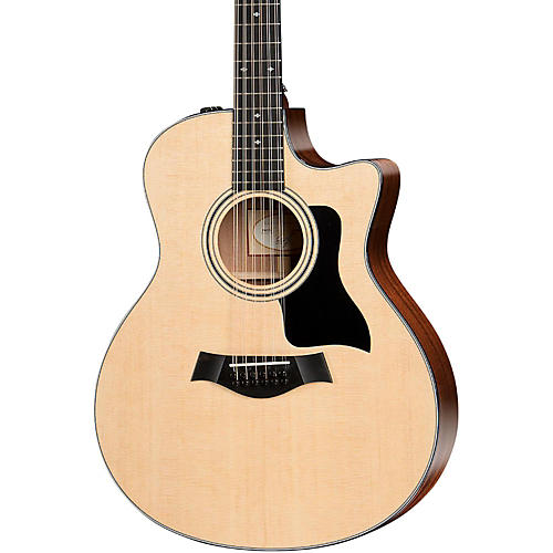 Taylor 300 Series 356ce Grand Symphony Cutaway 12-String Acoustic-Electric Guitar