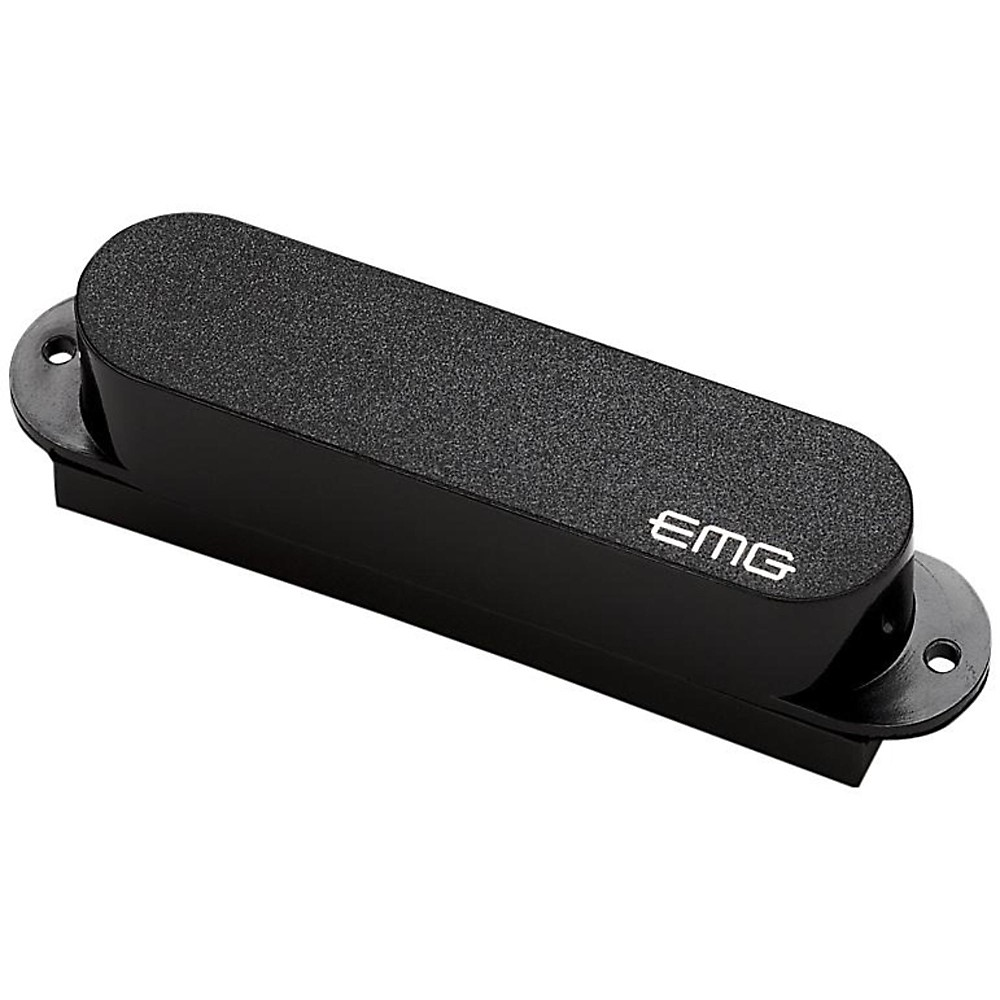 Emg Emg-S Ceramic Single Coil Active Pickup Black 1273887998234