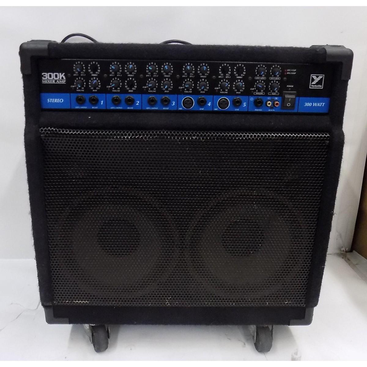 Yorkville 300K Mixer Amp Keyboard Amp