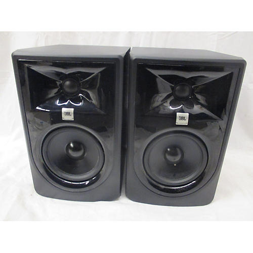 used jbl 305p mk2 pair powered monitor guitar center. Black Bedroom Furniture Sets. Home Design Ideas