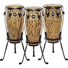30th Anniversary Edition Marathon Classic Series Conga with Steely II Stand Leopard Burl 12.5