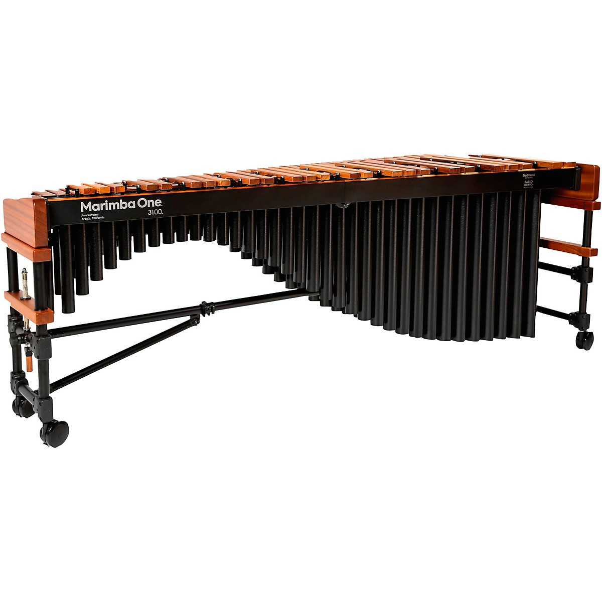Marimba One 3100 #9304 A442 Marimba with Traditional Keyboard and Basso Bravo Resonators
