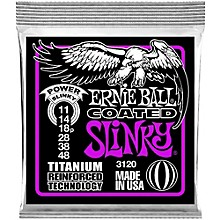 Ernie Ball 3120 Coated Titanium Power Slinky Electric Guitar Strings