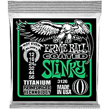 Ernie Ball 3126 Coated Electric Not Even Slinky Guitar Strings