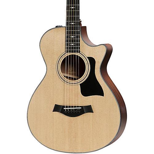 Taylor 312ce 12-Fret V-Class Grand Concert Acoustic-Electric Guitar