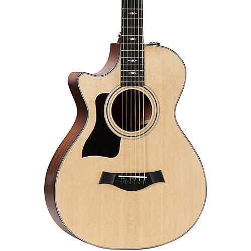 Taylor 312ce 12-Fret V-Class Grand Concert Left-Handed Acoustic-Electric Guitar