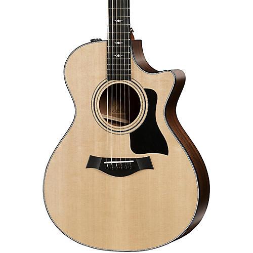 Taylor 312ce V-Class Grand Concert Acoustic-Electric Guitar