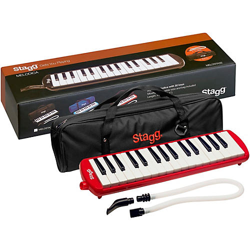 Stagg 32 Key Melodica with Gig Bag