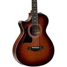 Taylor 322ce 12-Fret Left-Handed Grand Concert Acoustic-Electric Guitar