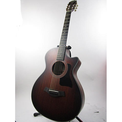 used taylor 322ce 12 fret acoustic electric guitar guitar center