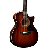 Taylor 324ce V-Class Grand Auditorium Acoustic-Electric Guitar Shaded Edge Burst