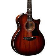 324ce V-Class Grand Auditorium Acoustic-Electric Guitar Shaded Edge Burst