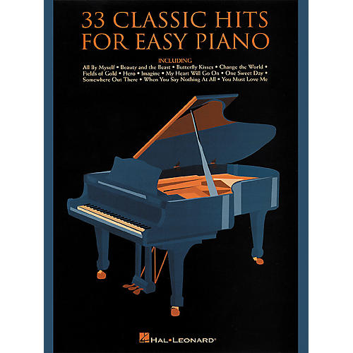 Hal Leonard 33 Classic Hits For Easy Piano