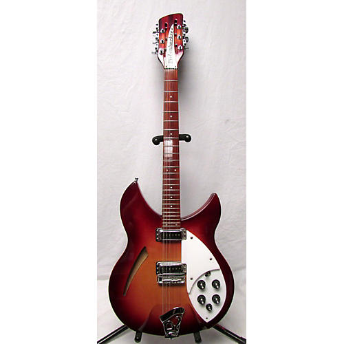Rickenbacker 330/12 FIREGLO Hollow Body Electric Guitar