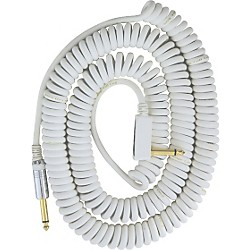 Vox Premium Vintage Coil Guitar Cable Assorted Colors White 9 Meters