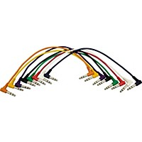 Musician's Gear Trs Trs Patch Cable 8-Pack (17