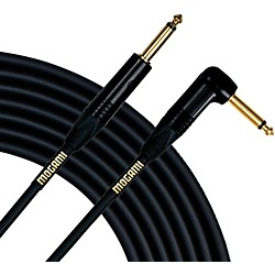 Mogami Gold Instrument Cable Angled Straight Cable  10 Ft.