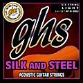 GHS 345 Silk and Steel Acoustic Guitar Strings Light thumbnail