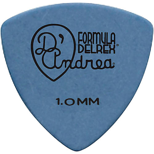 D'Andrea 346 Guitar Picks Rounded Triangle Delrex Delrin - One Dozen