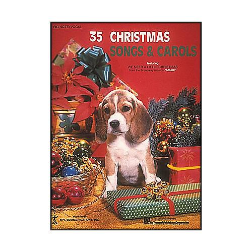 Hal Leonard 35 Christmas Songs And Carols for Big Note Piano