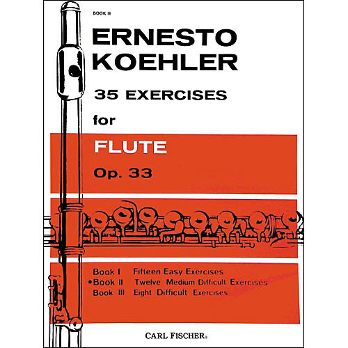 Carl Fischer 35 Exercises For Flute