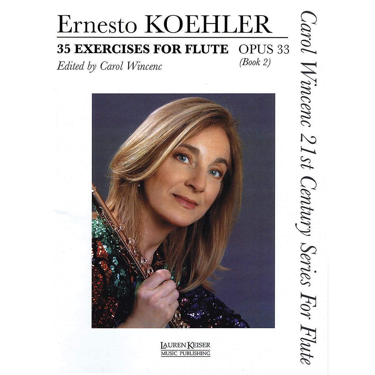 Lauren Keiser Music Publishing 35 Exercises for Flute, Op. 33 LKM Music Series Softcover