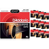 D'addario Exp12 Coated 80/20 Bronze Medium  ...